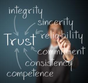 Trust is huge for millenials