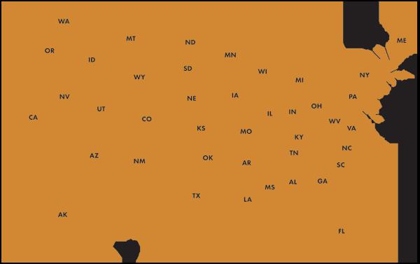 SB Capital Map