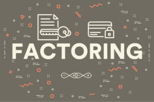 business illustration with the words factoring